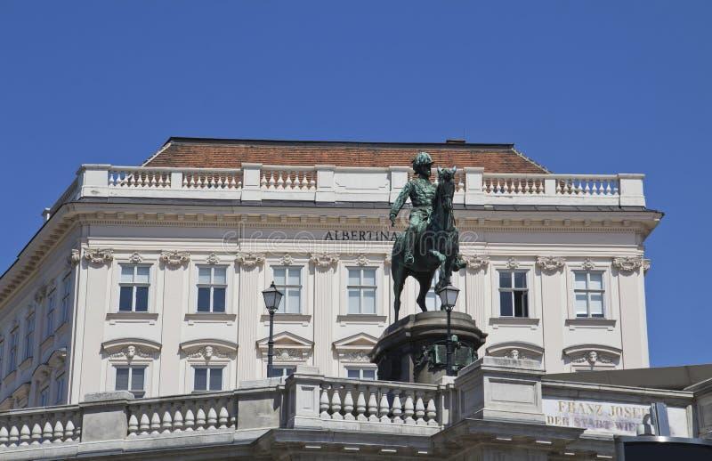 Albertina stock foto