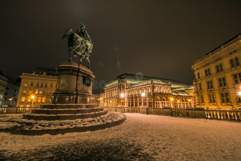 Albertina - un museo di arte a Vienna fotografia stock