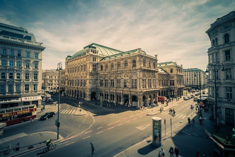 Albertinaplatz - Albertina Square - Vienne - l'Autriche photos libres de droits