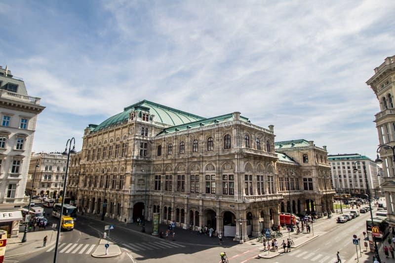 Albertinaplatz - Albertina Square - Vienne - l'Autriche photographie stock