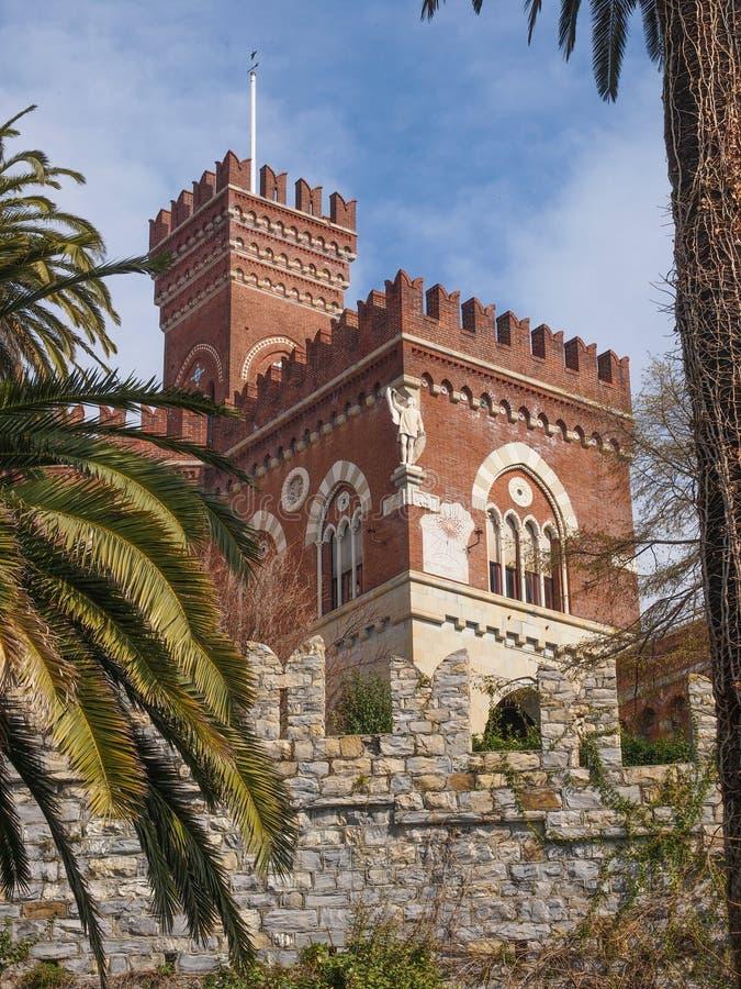 Albertis Castle στη Γένοβα Ιταλία στοκ εικόνες με δικαίωμα ελεύθερης χρήσης