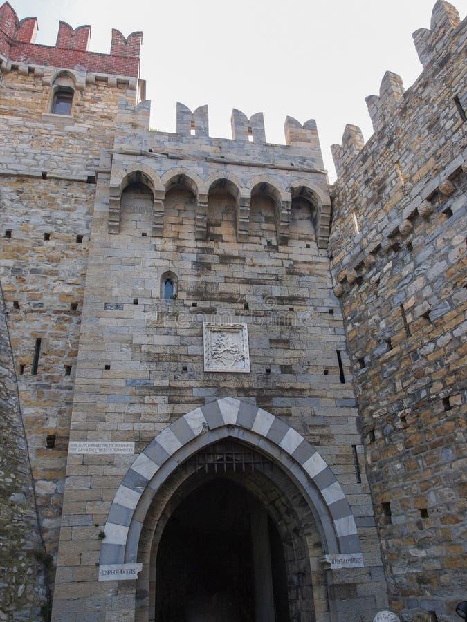 Download Albertiskasteel In Genoa Italy Stock Afbeelding - Afbeelding bestaande uit architectuur, kasteel: 39114543