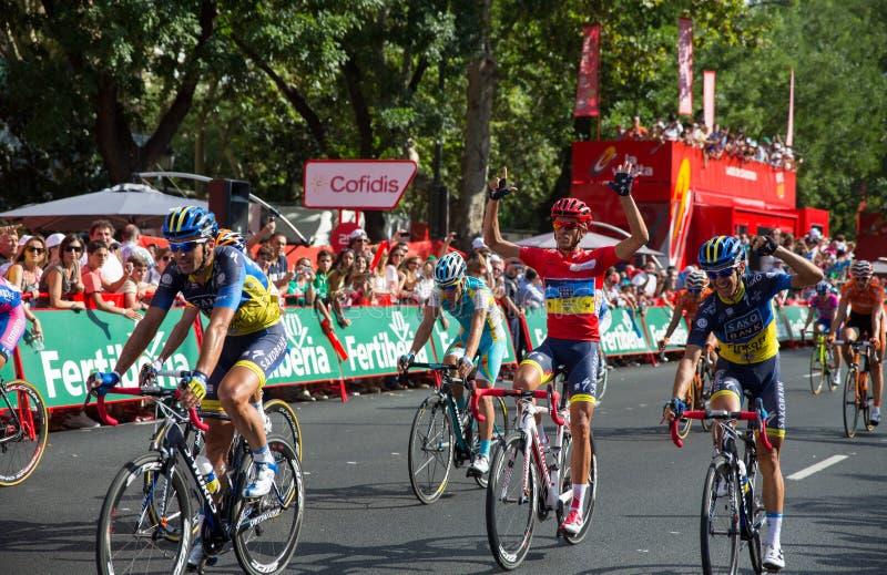 Alberto Contador arkivfoto