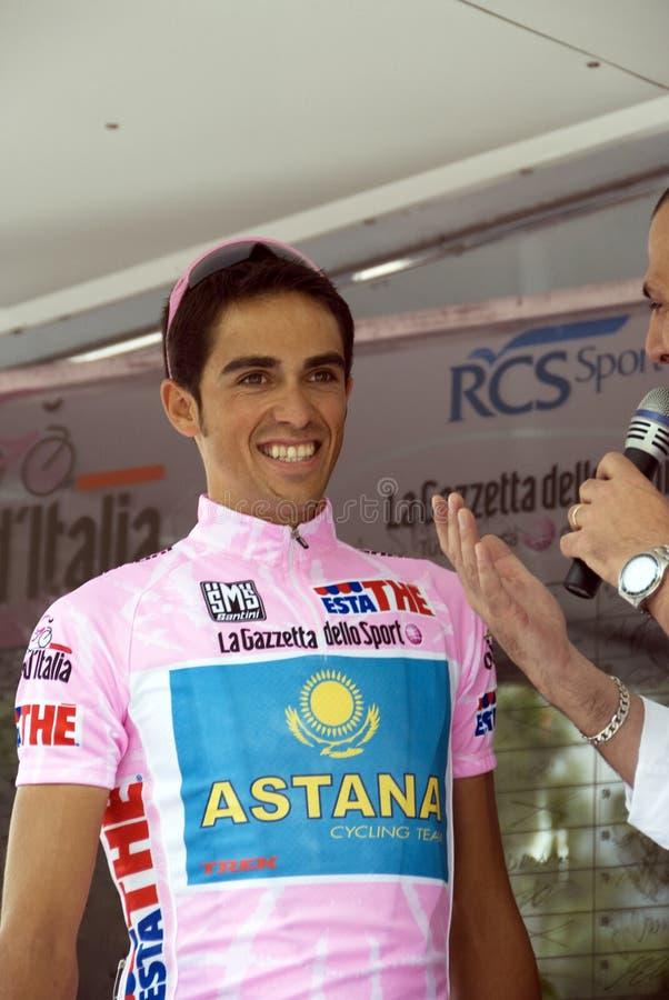 Alberto Contador Velasco royalty free stock photos