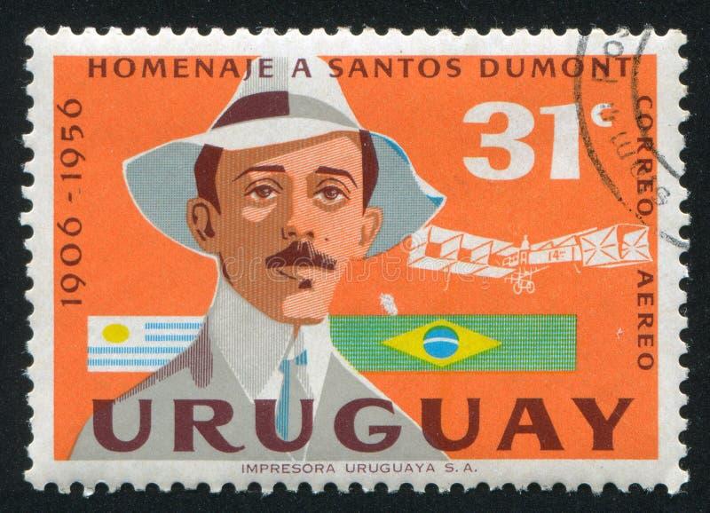 Alberto Santos Dumont stock afbeelding