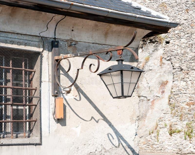 Albertville średniowieczny miasteczko fotografia stock