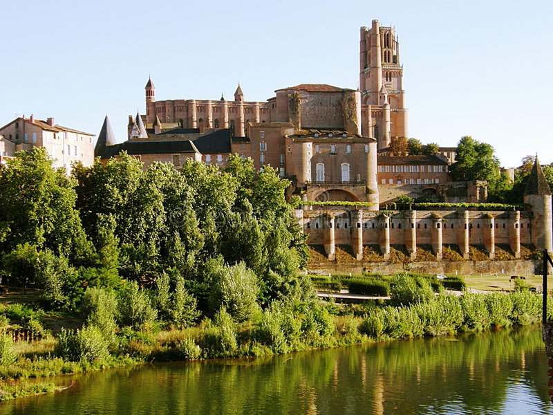 Download Albi cathedral stock image. Image of famous, history, europe - 8326977
