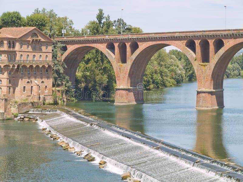 Albi, città mythical della Francia. fotografia stock