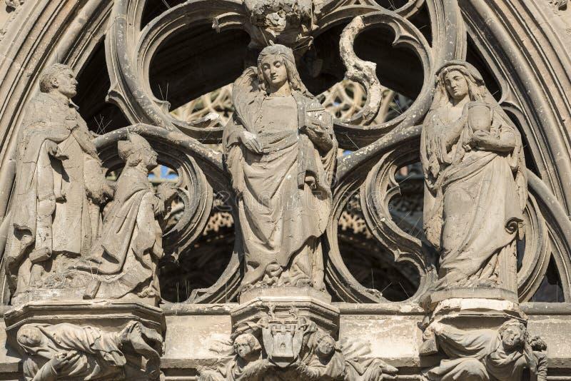 Albi (France), cathédrale images stock