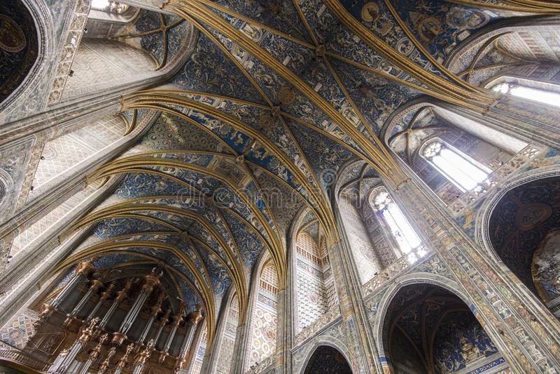 Albi, Francja obraz royalty free