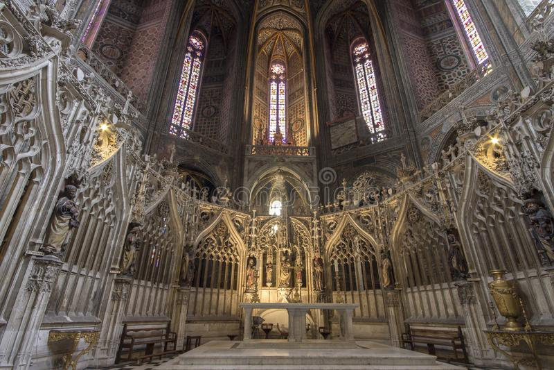 Albi, Francja fotografia royalty free