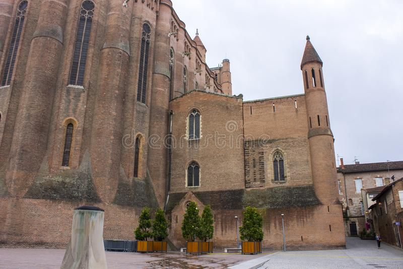 Albi, Francja obrazy royalty free