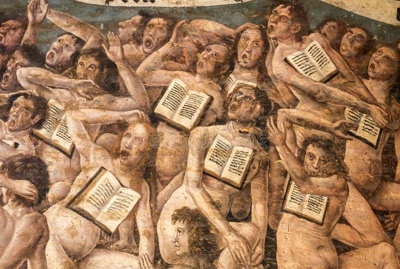 Albi (Frankreich), Kathedraleninnenraum lizenzfreie stockfotos