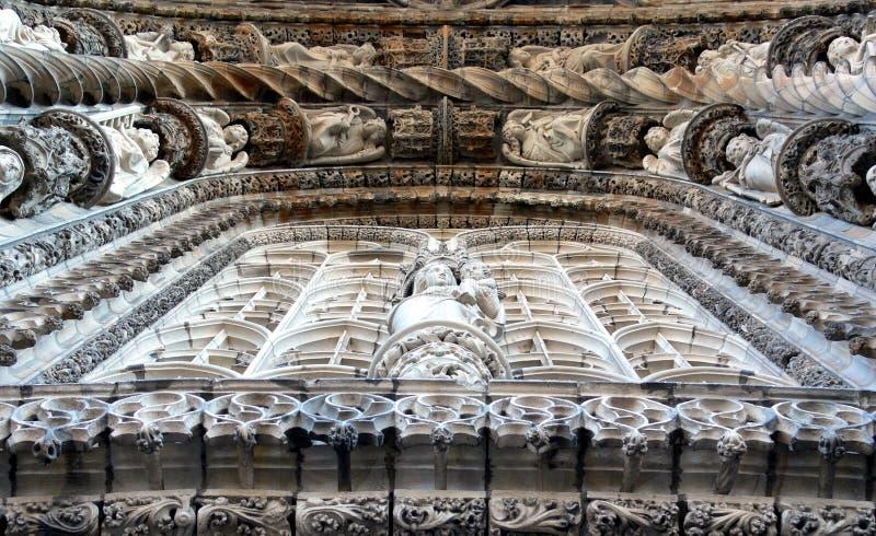 Albi Frankrijk het Art. van de Kathedraal royalty-vrije stock foto's