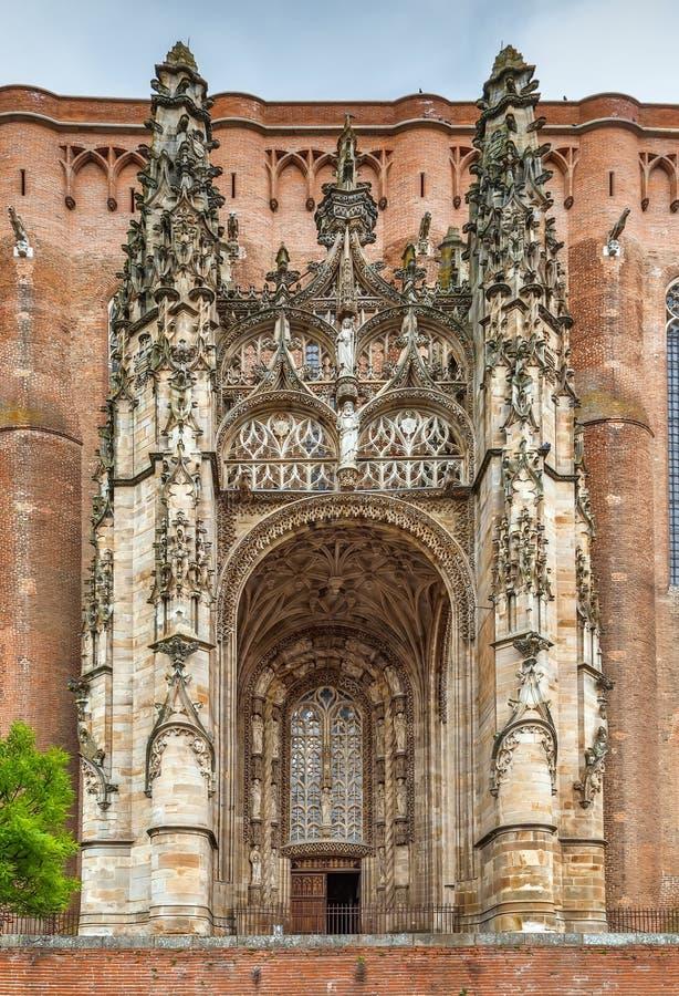 Albi katedra, Francja obrazy royalty free