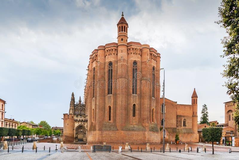 Albi katedra, Francja fotografia stock