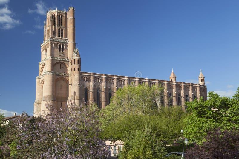 Albi Kathedraal royalty-vrije stock foto
