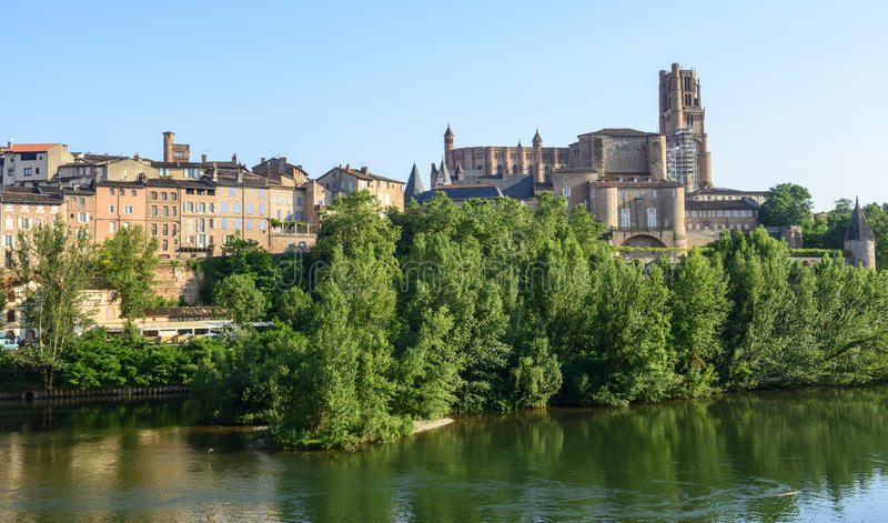 Download Albi, panoramic view stock photo. Image of france, urban - 34600782