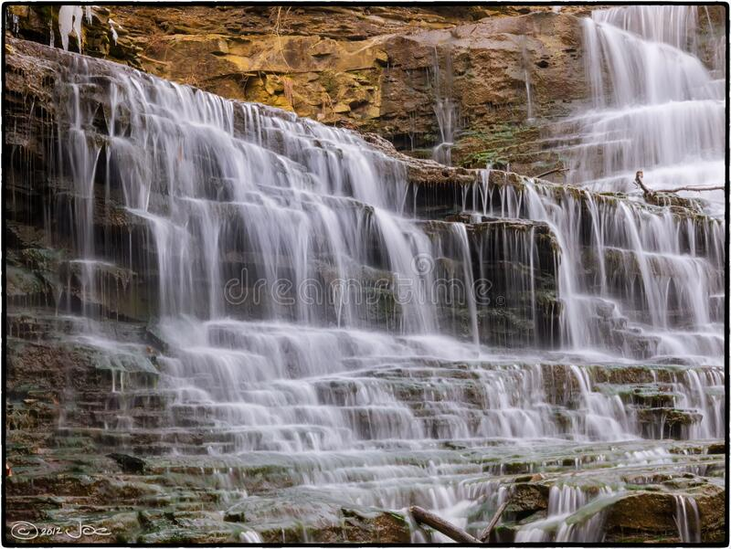 Albion Falls, Hamilton Ontario stock images