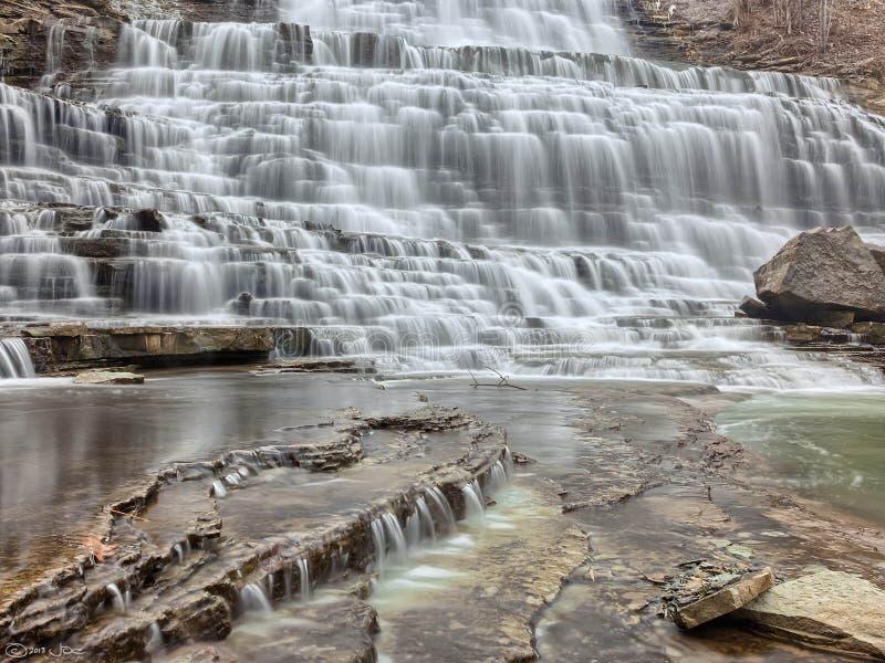 Albion Falls, Hamilton Ontario royalty free stock photos