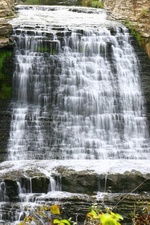 Albion Waterfalls. In Hamilton in the GTA area royalty free stock images