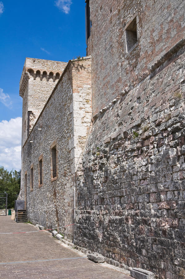 Download Albornoz Fortress. Narni. Umbria. Italy. Royalty Free Stock Photo - Image: 26469695