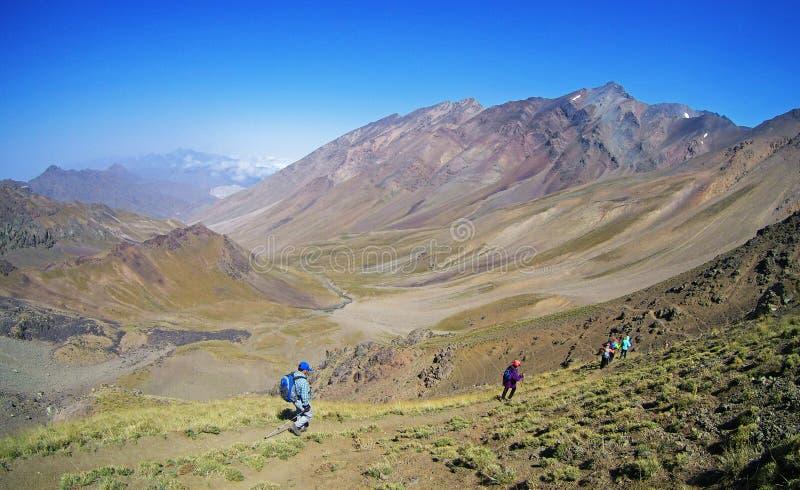 Alborz pasmo górskie zdjęcie stock