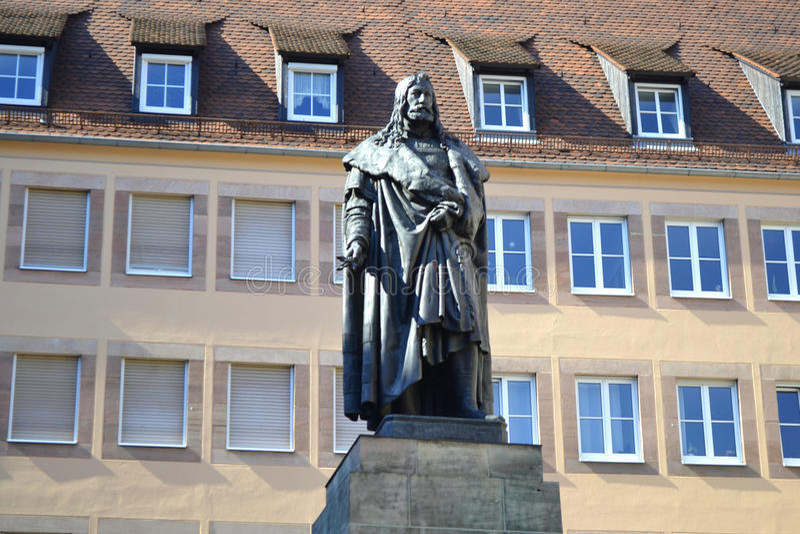 Albrecht Durer Monument photographie stock libre de droits
