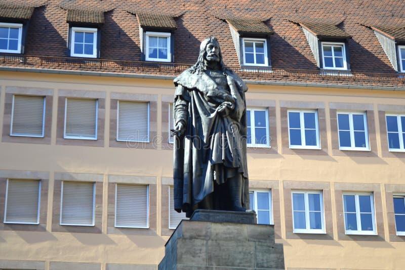 Albrecht Durer Monument fotografia stock libera da diritti