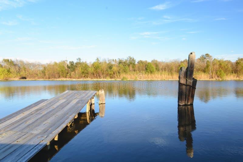 Albufeira Lafourche, Louisiana foto de stock royalty free