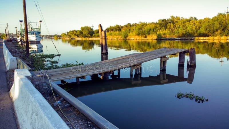 Albufeira Lafourche, Louisiana fotos de stock