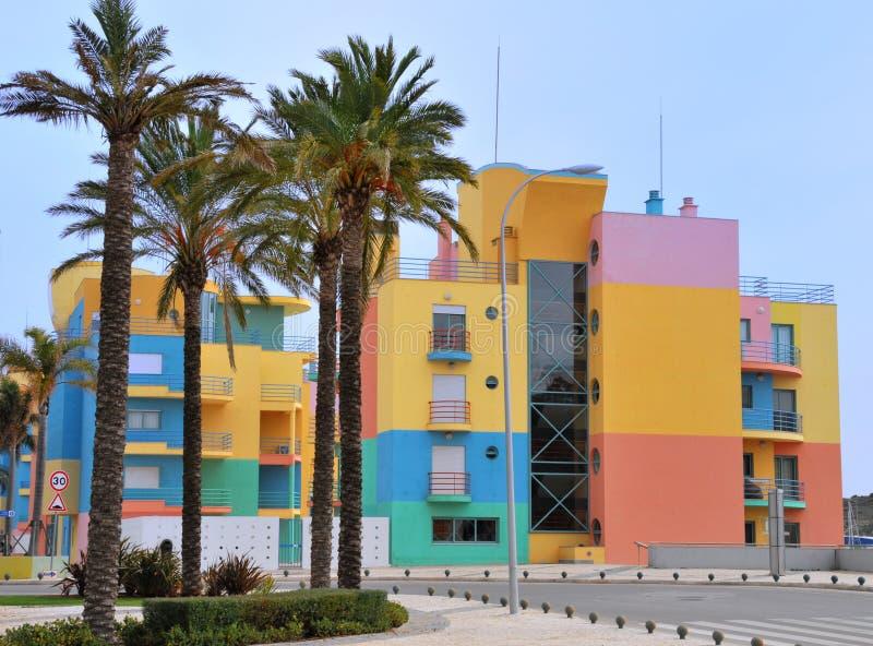 Albufeira Marina Royalty Free Stock Photo
