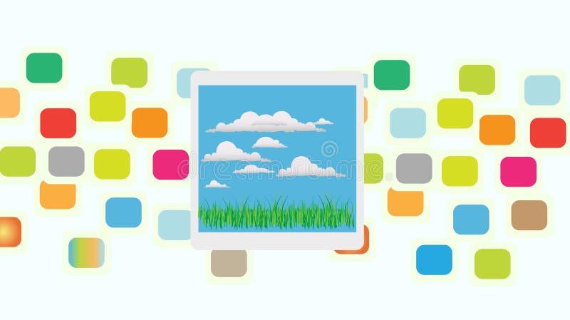 Album vector illustratie