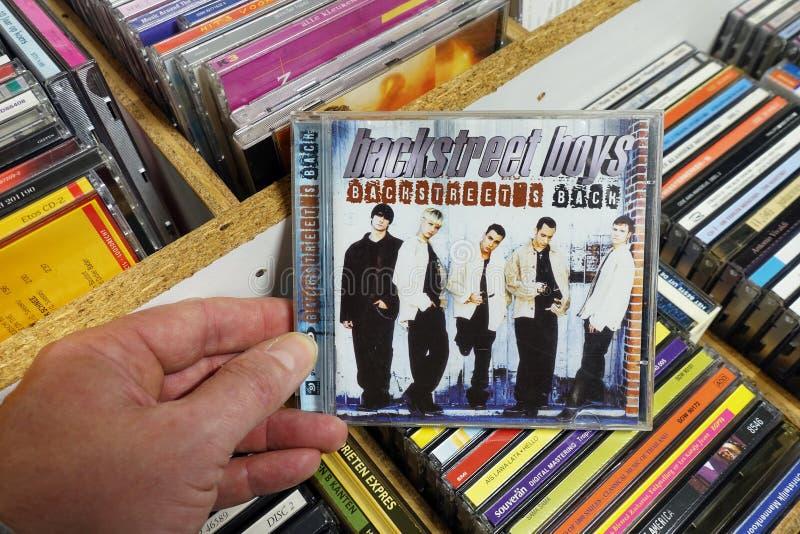 Album: Backstreet Boys - bakgatas baksida royaltyfri fotografi