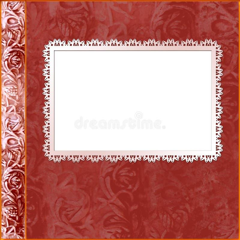 Album cover with frame stock illustration. Illustration of backdrop ...