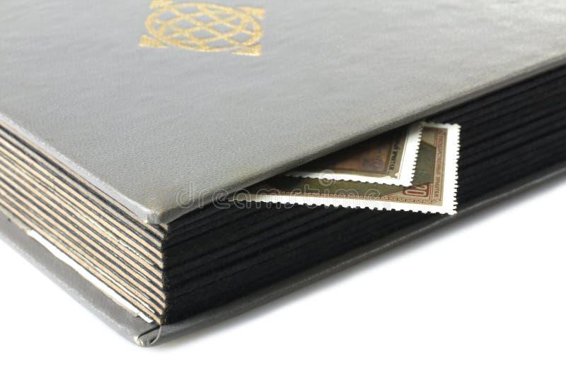 Album d'estampille image libre de droits
