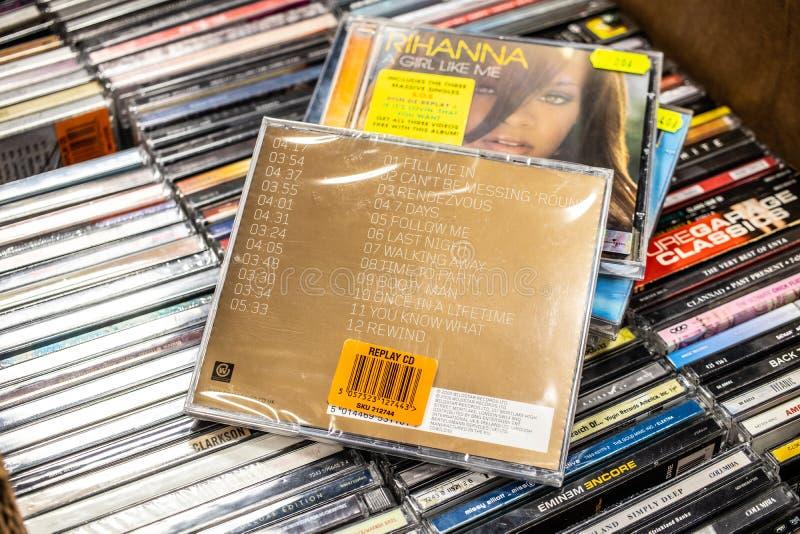 Album de CD de Craig David soutenu pour le faire 2000 sur l'affichage ? vendre, chanteur anglais c?l?bre, compositeur, frappeur image libre de droits
