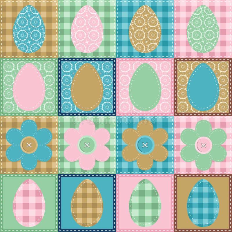 Album della rappezzatura della carta da parati di Pasqua royalty illustrazione gratis