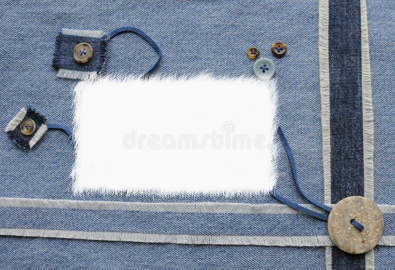 Album di stile dei jeans illustrazione di stock