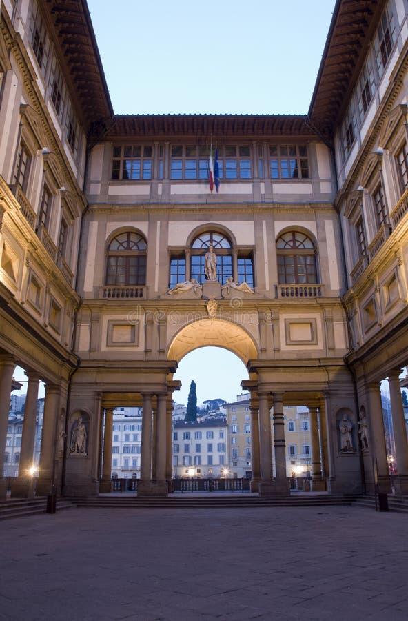 Album Florence - Uffizi royalty-vrije stock foto