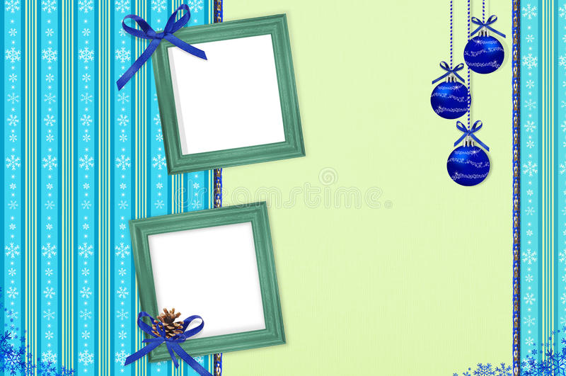 Download Album With Frame For Congratulation New Year's Stock Photo - Image: 16415536