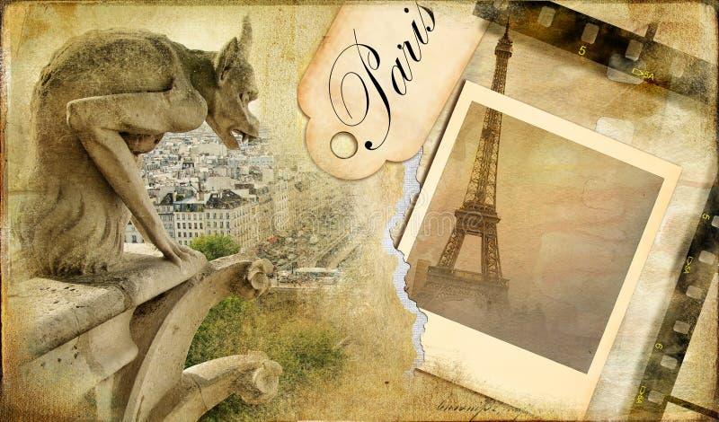 Album parisien illustration de vecteur