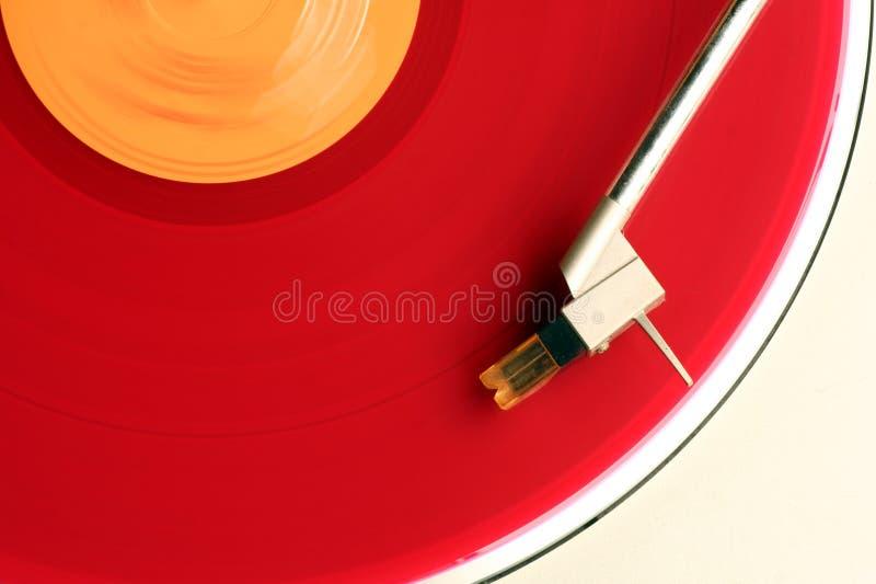 Album rouge photographie stock