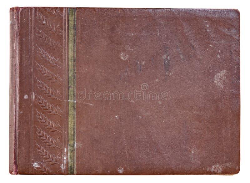 Album van de dekkings het oude rode foto voor foto's royalty-vrije stock foto
