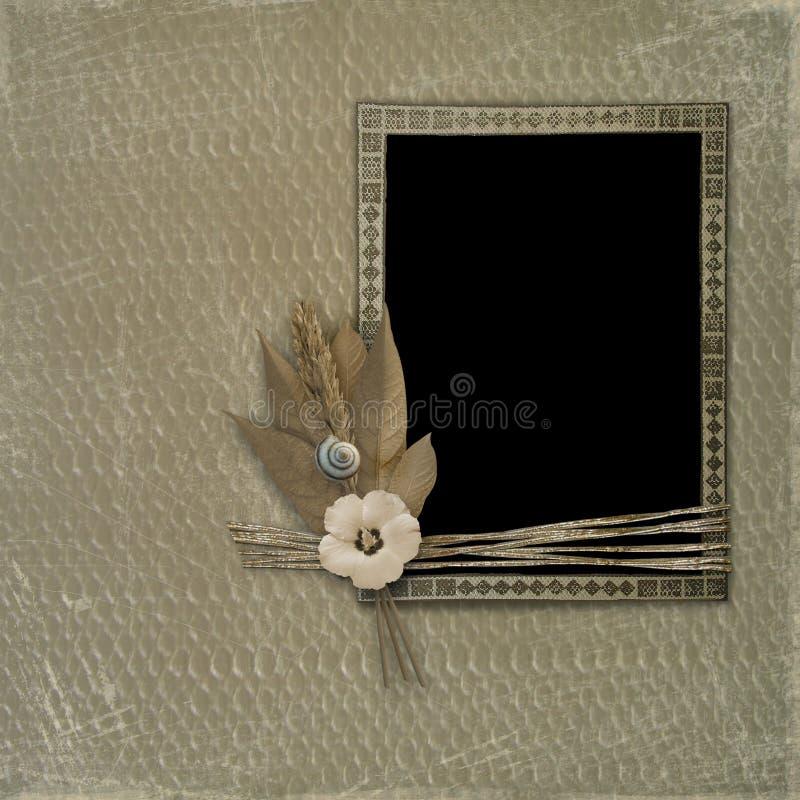 album zdjęć grunge pokrycia ilustracja wektor