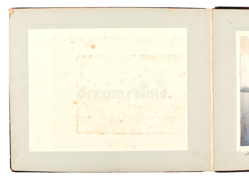 albumowa antykwarska fotografia obraz stock