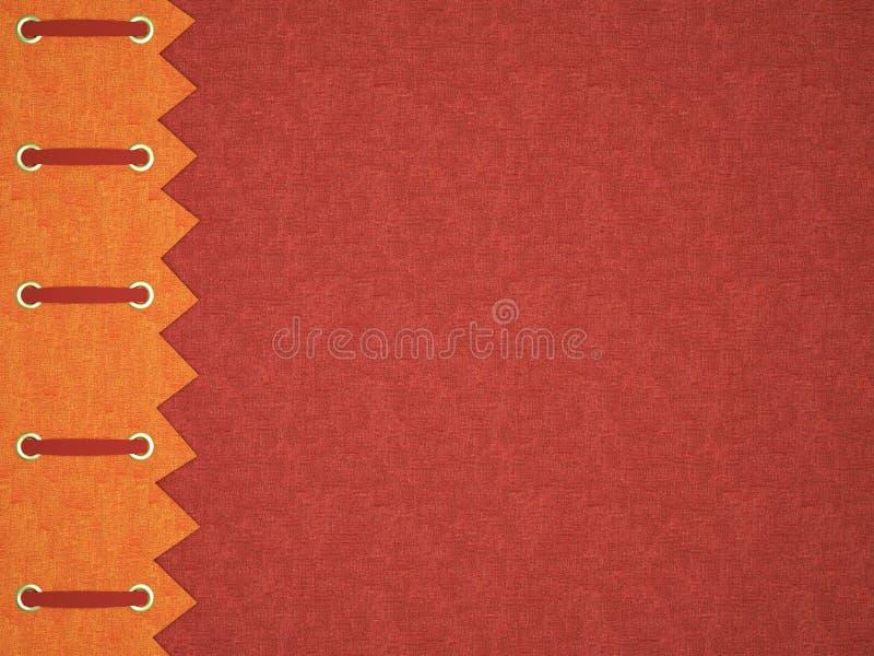 albumowa okładkowej fotografii czerwień royalty ilustracja