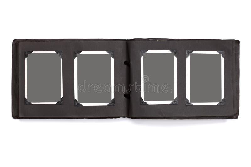 albumowa pusta fotografia fotografuje rocznika zdjęcia stock