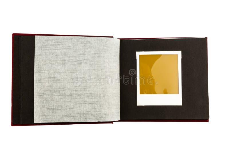 albumowego tła projekta ilustracyjny fotografii biel zdjęcie stock