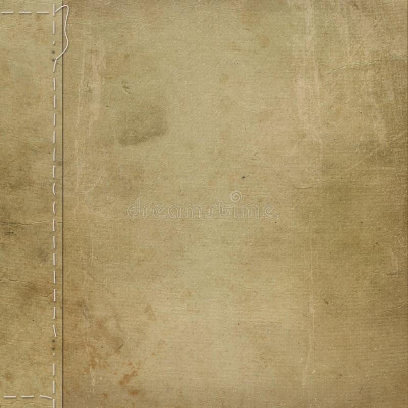 albumowy brąz pokrywy grunge royalty ilustracja